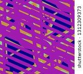 seamless pop art background.... | Shutterstock .eps vector #1312309373