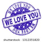 we love you stamp seal...
