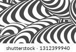 black and white stripe line... | Shutterstock .eps vector #1312399940
