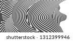 black and white stripe line... | Shutterstock .eps vector #1312399946