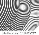 black and white stripe line... | Shutterstock .eps vector #1312399949