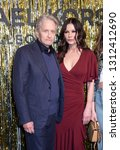 Small photo of New York, NY, USA - February 13, 2019: Michael Douglas, Catherine Zeta-Jones attend the Michael Kors Collection Fall 2019 Runway Show during New York Fashion Week at Cipriani Wall Street, Manhattan
