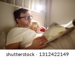 Father Reading Bedtime Stories...
