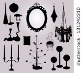 decoration vector 0062   Shutterstock .eps vector #131242310