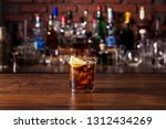refreshing rum and cola... | Shutterstock . vector #1312434269
