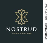 flower logo design concept....   Shutterstock .eps vector #1312447769