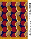 textile fashion  african print... | Shutterstock .eps vector #1312462313