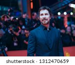 christian bale poses at the ...   Shutterstock . vector #1312470659