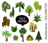 isolated set vector drawing...   Shutterstock .eps vector #1312496720