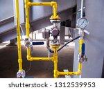 pressure gauge of measuring... | Shutterstock . vector #1312539953