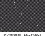space with stars universe space ... | Shutterstock .eps vector #1312593026