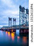 drawbridge arched truss... | Shutterstock . vector #1312611896