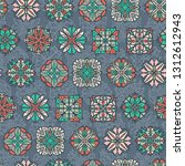 abstract seamless pattern with... | Shutterstock .eps vector #1312612943
