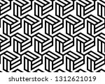 abstract geometric pattern with ... | Shutterstock . vector #1312621019
