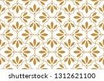 flower geometric pattern.... | Shutterstock . vector #1312621100