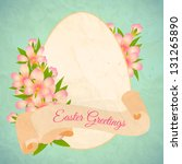 Happy Easter Card Template  ...