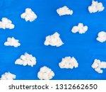 children's art project made... | Shutterstock . vector #1312662650