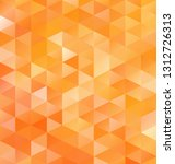 orange grid mosaic background ... | Shutterstock .eps vector #1312726313