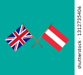 great britain and austria... | Shutterstock .eps vector #1312735406
