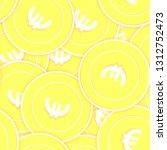european union euro gold coins... | Shutterstock .eps vector #1312752473