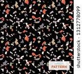 terrazzo flooring vector...   Shutterstock .eps vector #1312778099