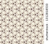 contemporary geometric pattern. ... | Shutterstock .eps vector #1312818533