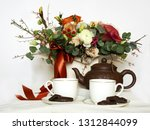 composition  still life with... | Shutterstock . vector #1312844099