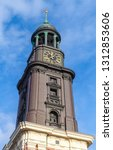 spire of st. michael church... | Shutterstock . vector #1312853606