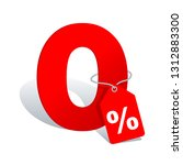 0    zero percents commission... | Shutterstock .eps vector #1312883300