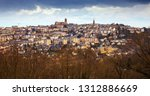 panoramic view of french city... | Shutterstock . vector #1312886669