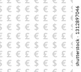neutral background of currency. ... | Shutterstock .eps vector #1312897046