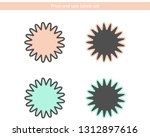 price and sale label set. | Shutterstock .eps vector #1312897616
