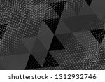 beautiful black abstract... | Shutterstock . vector #1312932746