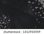 beautiful black abstract... | Shutterstock . vector #1312933559