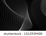 beautiful black abstract... | Shutterstock . vector #1312939400