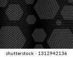 beautiful black abstract... | Shutterstock . vector #1312942136