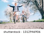 father and son having fun... | Shutterstock . vector #1312946906