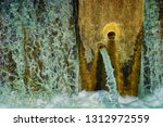 special built bubbly weirs by... | Shutterstock . vector #1312972559