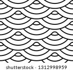 abstract geometric pattern with ... | Shutterstock . vector #1312998959