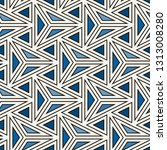 contemporary geometric pattern. ... | Shutterstock .eps vector #1313008280