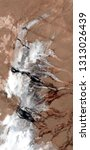 Small photo of insurmountable feelings,abstract photography of the deserts of Africa from the air. aerial view of desert landscapes, Genre: Abstract Naturalism, from the abstract to the figurative