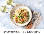 italian risotto with shrimps ... | Shutterstock . vector #1313039849