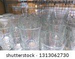 tableware department glass | Shutterstock . vector #1313062730