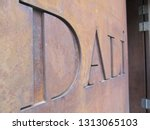 close up inscription on the...   Shutterstock . vector #1313065103