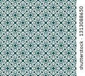 vintage seamless pattern design ... | Shutterstock .eps vector #1313088650
