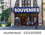 bucharest  romania   september...   Shutterstock . vector #1313102003