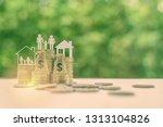 family tax benefit  ... | Shutterstock . vector #1313104826