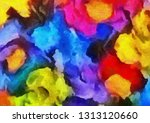 abstract grunge texture... | Shutterstock . vector #1313120660