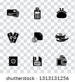 vector money collection  ... | Shutterstock .eps vector #1313131256