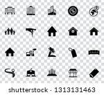 vector real estate icons  sale... | Shutterstock .eps vector #1313131463